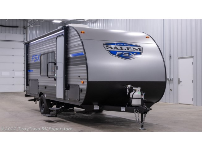 New 2021 Forest River Salem FSX 179DBK available in Grand Rapids, Michigan