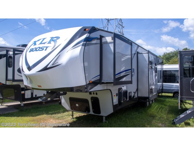 Used 2019 Forest River XLR Boost 37TSX13 available in Grand Rapids, Michigan