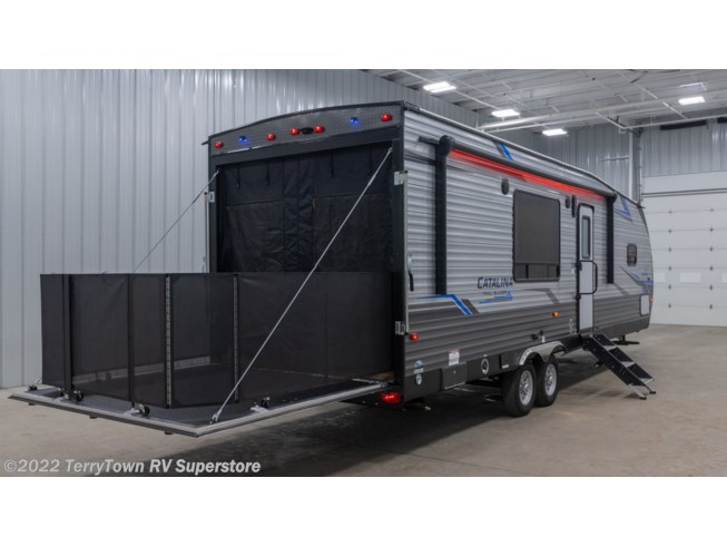 2021 Coachmen Catalina Trail Blazer 28THS - New Toy Hauler For Sale by TerryTown RV Superstore in Grand Rapids, Michigan