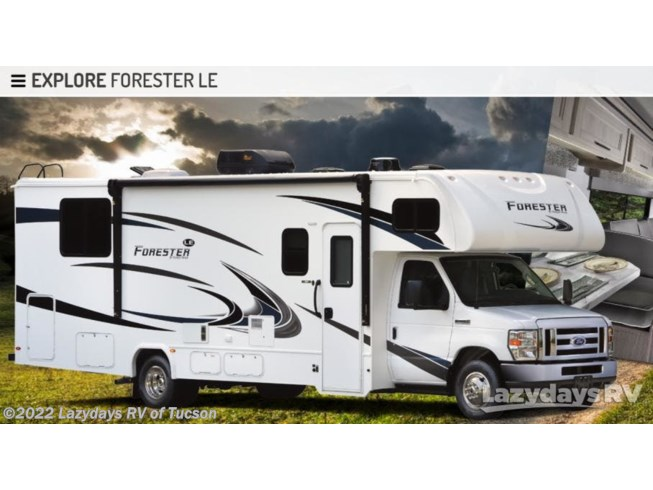 New 2021 Forest River Forester 3011DS available in Tucson, Arizona