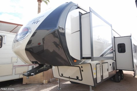 New 2018 Forest River Sandpiper HT 3250IK Half Ton Towable For Sale by Auto Corral RV available in Mesa, Arizona