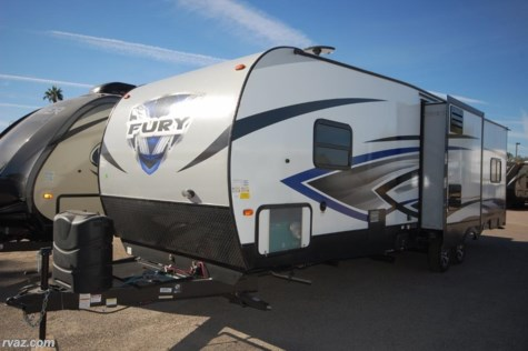 New 2018 Prime Time Fury 3110 2 Slide Toy Hauler For Sale by Auto Corral RV available in Mesa, Arizona