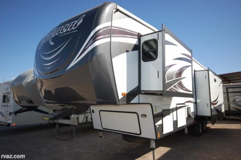 Used 2017 Heartland  Oakmont 345 RS 5th Wheel For Sale by Auto Corral RV available in Mesa, Arizona