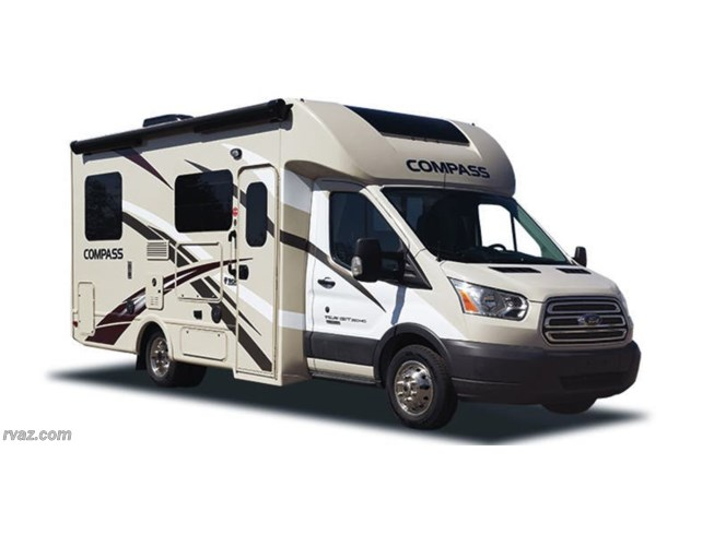 Stock Image for 2017 Thor Motor Coach Compass 23TB (options and colors may vary)