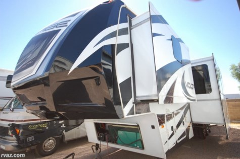 Used 2013 Dutchmen Voltage 3600 Toy Hauler For Sale by Auto Corral RV available in Mesa, Arizona