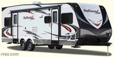 Stock Image for 2014 Cruiser RV Fun Finder Xtra XT 276 (options and colors may vary)