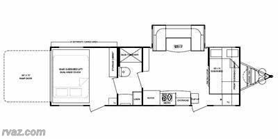 2014 Cruiser RV Fun Finder Xtra XT 276 floorplan image