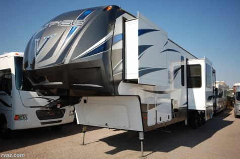 Used 2016 Dutchmen Voltage V4105 Toy Hauler For Sale by Auto Corral RV available in Mesa, Arizona