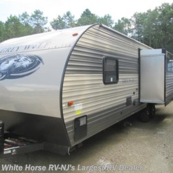 2018 Forest River Grey Wolf 26RL  - Travel Trailer New  in Egg Harbor City NJ For Sale by White Horse RV Center (Galloway Twp) call 609-404-1717 today for more info.