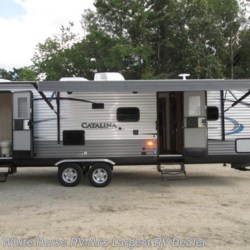 2018 Coachmen Catalina 283DDS Legacy Ed. 2-BdRM Slide Double Bed Bunks  - Travel Trailer New  in Egg Harbor City NJ For Sale by White Horse RV Center (Galloway Twp) call 609-404-1717 today for more info.