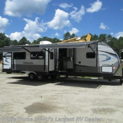 2018 Coachmen Catalina 333BHTSCK Triple slide bunkhouse & camp kitchen  - Travel Trailer New  in Egg Harbor City NJ For Sale by White Horse RV Center (Galloway Twp) call 609-404-1717 today for more info.