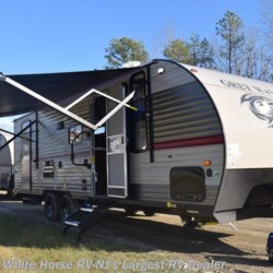 New 2018 Forest River Grey Wolf 23DBH U-Lounge Slide Double Bed Bunks For Sale by White Horse RV Center (Galloway Twp) available in Egg Harbor City, New Jersey