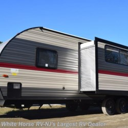 2018 Forest River Grey Wolf 23DBH U-Lounge Slide Double Bed Bunks  - Travel Trailer New  in Egg Harbor City NJ For Sale by White Horse RV Center (Galloway Twp) call 609-404-1717 today for more info.