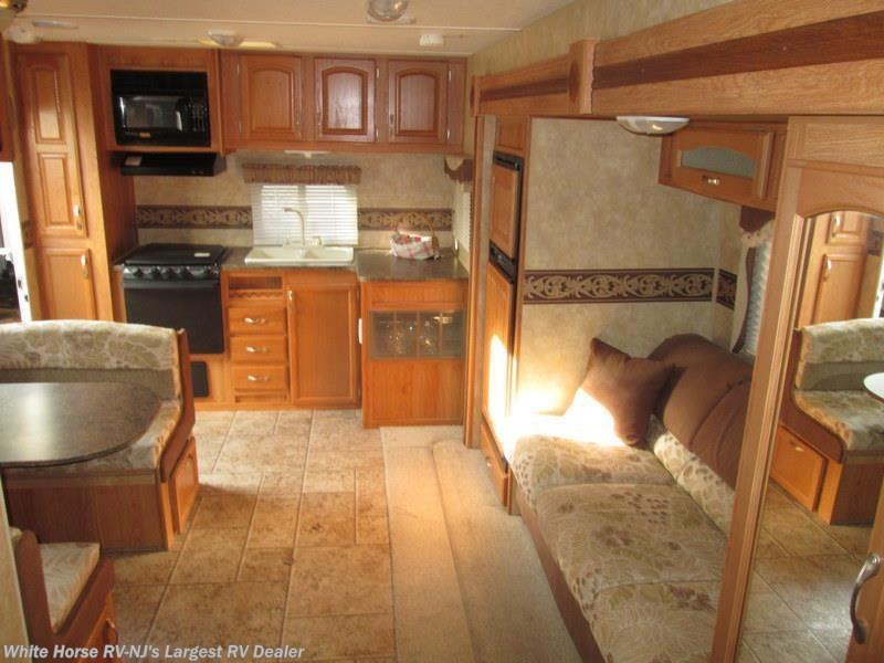 ... Travel Trailer Used White Horse RV Center (Williamstown) 2010 Eagle  Super Lite 256 RKS Rear Kitchen Slide