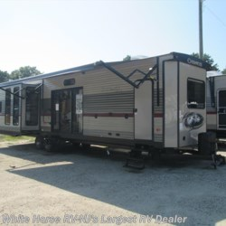 2018 Forest River Cherokee 39BR 2-BdRM Quad Slide with Bunkhouse  - Destination Trailer New  in Egg Harbor City NJ For Sale by White Horse RV Center (Galloway Twp) call 609-404-1717 today for more info.