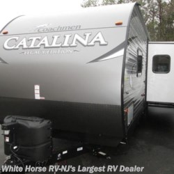 New 2018 Coachmen Catalina 263RLS Legacy Edition Rear Living Slide For Sale by White Horse RV Center (Galloway Twp) available in Egg Harbor City, New Jersey