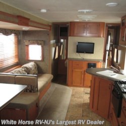 2013 Forest River Cherokee 274BH 2-BdRM U-Dinette & Sofa Slide-out w/Bunks  - Travel Trailer Used  in Egg Harbor City NJ For Sale by White Horse RV Center (Galloway Twp) call 609-404-1717 today for more info.