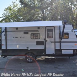 2018 Coachmen Viking 17BH, FRONT QUEEN, BUNKS AND A BIKE DOOR  - Travel Trailer New  in Egg Harbor City NJ For Sale by White Horse RV Center (Galloway Twp) call 609-404-1717 today for more info.