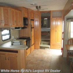 2010 SunnyBrook Bristol Bay 3450TS Queen Bed, Triple Slide-out  - Fifth Wheel Used  in Egg Harbor City NJ For Sale by White Horse RV Center (Galloway Twp) call 609-404-1717 today for more info.