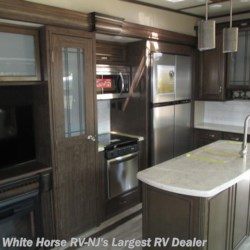 White Horse RV Center (Galloway Twp) 2018 Solitude 377MBS 2-BdRM Den Loft Rear Living Quad Slide  Fifth Wheel by Grand Design | Egg Harbor City, New Jersey