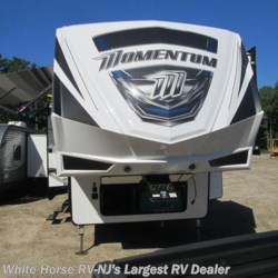 2018 Grand Design Momentum 395M  - Toy Hauler New  in Egg Harbor City NJ For Sale by White Horse RV Center (Galloway Twp) call 609-404-1717 today for more info.