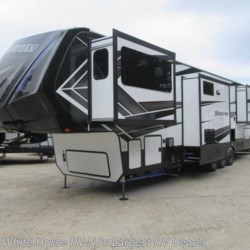 "2018 Grand Design Momentum 376TH Five Slider Below Floor 9'0"" Garage  - Toy Hauler New  in Egg Harbor City NJ For Sale by White Horse RV Center (Galloway Twp) call 609-404-1717 today for more info."