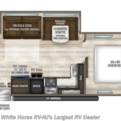 2018 Grand Design Imagine 2800BH floorplan image