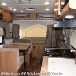 2017 Forest River Rockwood Roo 19 with Front & Rear Queen Bed Ends  - Expandable Trailer Used  in Williamstown NJ For Sale by White Horse RV Center (Williamstown) call 877-297-2166 today for more info.