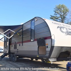 2018 Forest River Grey Wolf 23MK Rear Living Room Slide-out U booth  - Travel Trailer New  in Egg Harbor City NJ For Sale by White Horse RV Center (Galloway Twp) call 609-404-1717 today for more info.