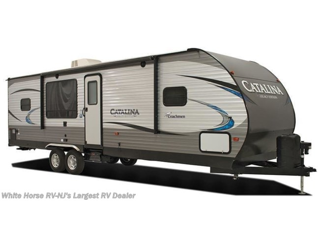 Stock Image for 2018 Coachmen Catalina 313DBDSCK (options and colors may vary)