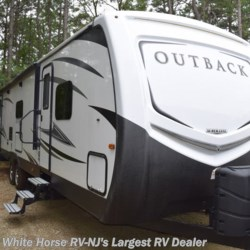 2017 Keystone Outback 334RL  - Travel Trailer Used  in Egg Harbor City NJ For Sale by White Horse RV Center (Galloway Twp) call 609-404-1717 today for more info.