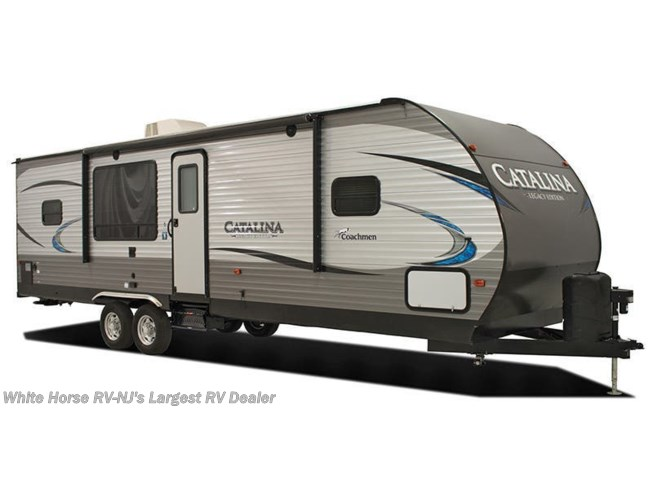 Stock Image for 2018 Coachmen Catalina 333RETS (options and colors may vary)