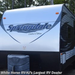 2016 Keystone Springdale 260LE  - Travel Trailer Used  in Egg Harbor City NJ For Sale by White Horse RV Center (Galloway Twp) call 609-404-1717 today for more info.