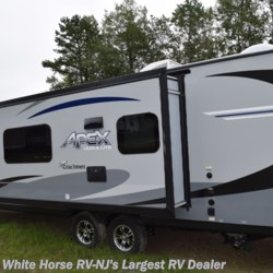 2019 Coachmen Apex 249RBS  - Travel Trailer New  in Egg Harbor City NJ For Sale by White Horse RV Center (Galloway Twp) call 609-404-1717 today for more info.