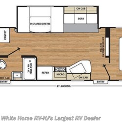 2018 Coachmen Catalina SBX 321BHDS CK floorplan image