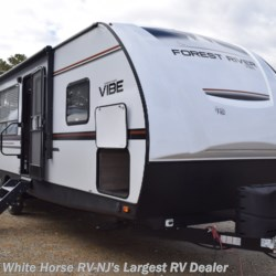 2019 Forest River Vibe 26RK  - Travel Trailer New  in Egg Harbor City NJ For Sale by White Horse RV Center (Galloway Twp) call 609-404-1717 today for more info.