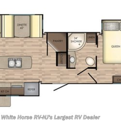 2018 CrossRoads Sunset Trail Grand Reserve SS33SI floorplan image