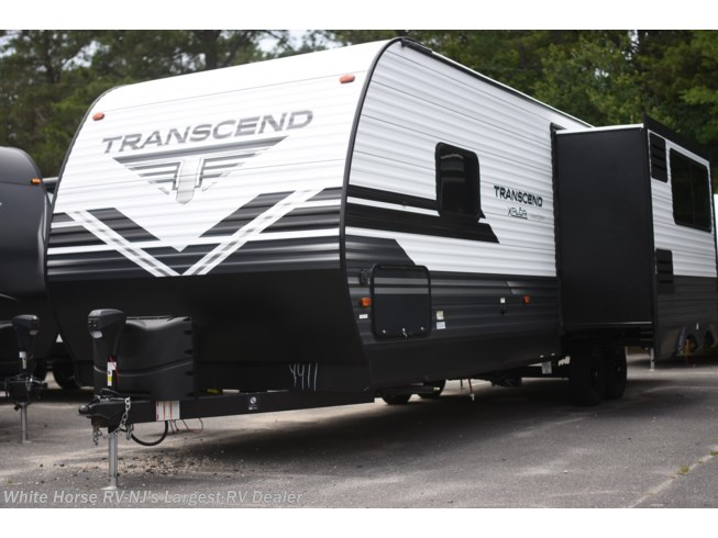 2020 Grand Design Transcend Xplor 265BH - New Travel Trailer For Sale by White Horse RV Center (Galloway Twp) in Egg Harbor City, New Jersey features Air Conditioning, Auxiliary Battery, Awning, CB Radio, CD Player, CO Detector, Exterior Speakers, External Shower, Leveling Jacks, LP Detector, Medicine Cabinet, Microwave, Oven, Power Roof Vent, Queen Bed, Refrigerator, Roof Vents, Satellite Radio, Shower, Skylight, Slideout, Smoke Detector, Spare Tire Kit, Stove Top Burner, Toilet, U-Shaped Dinette, Water Heater