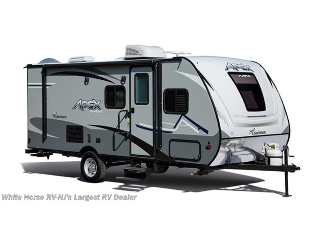 Stock Image for 2021 Coachmen Apex Nano 185BH (options and colors may vary)