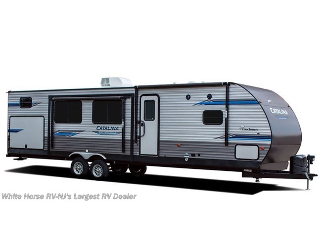 Stock Image for 2020 Coachmen Catalina Legacy Edition 263BHSCK (options and colors may vary)