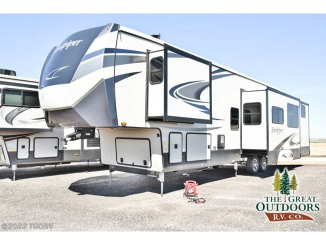 New 2020 Forest River Sandpiper 384QBOK available in Greeley, Colorado