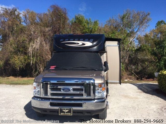 2017 Coachmen Concord 300DS (in Naples, FL) - Used Class C For Sale by The Motorhome Brokers in Salisbury, Maryland features Stereo System, U-Shaped Dinette, Inverter, Non-Smoking Unit, Front Overhead Storage