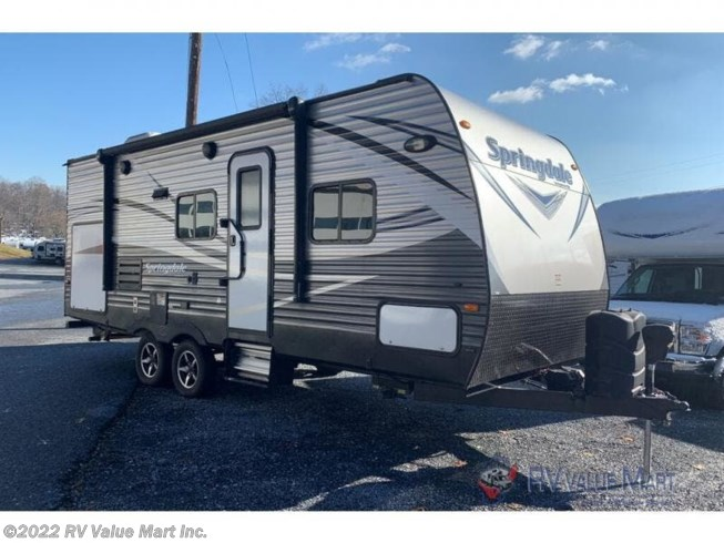 Used 2017 Keystone Springdale 225RB available in Lititz, Pennsylvania