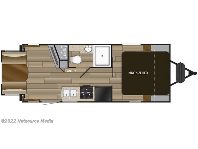 2018 Cruiser RV MPG 2000RD floorplan image