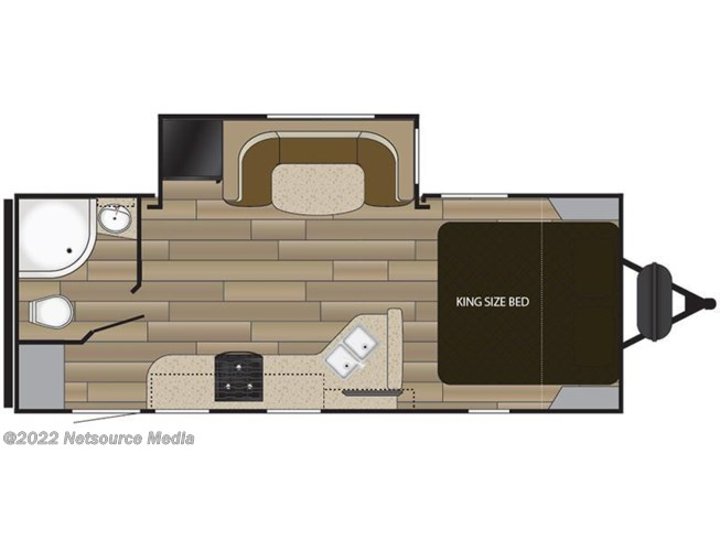 2018 Cruiser RV MPG 2120RB floorplan image