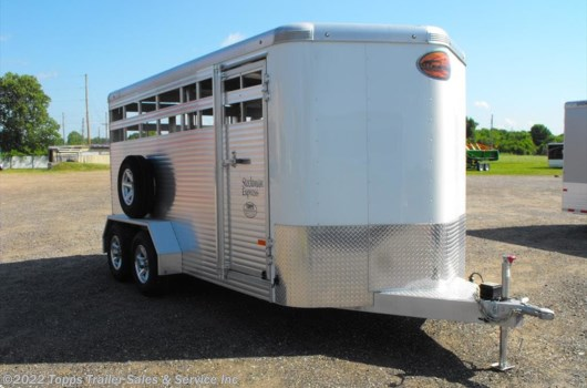 "Livestock Trailer - 2018 Sundowner Stockman Express 16' x 6'9"" BP Stock Trailer available New in Bossier City, LA"