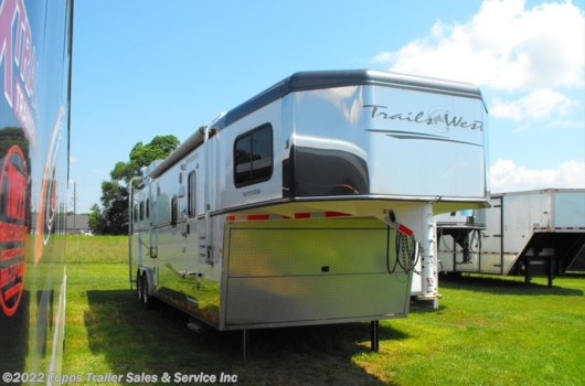 3 Horse Trailer - 2013 Trails West 3H LQ available Used in Bossier City, LA