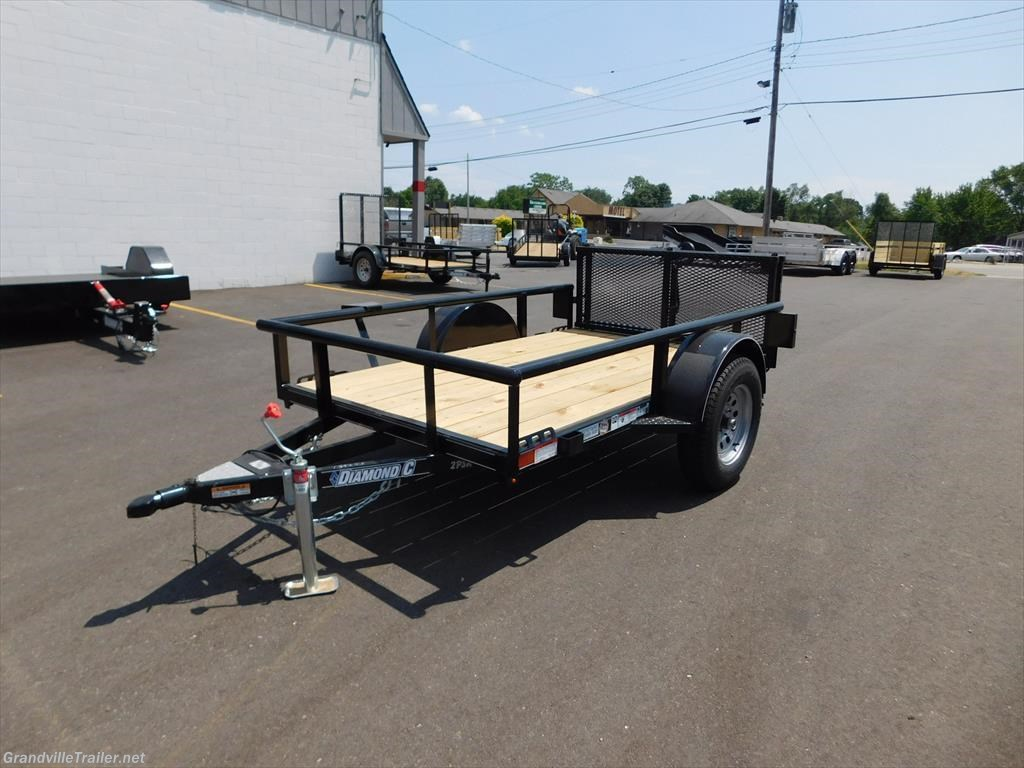 2017 Diamond C SINGLE AXLE UTILITY TRAILER 2PSA8X60
