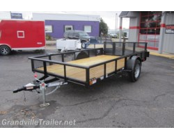 #1495 - 2017 Diamond C SINGLE AXLE UTILITY TRAILER 2PSA12X77