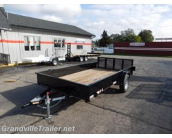 #1496 - 2017 Diamond C SOLID-SIDE UTILITY TRAILER 26SSA12X77